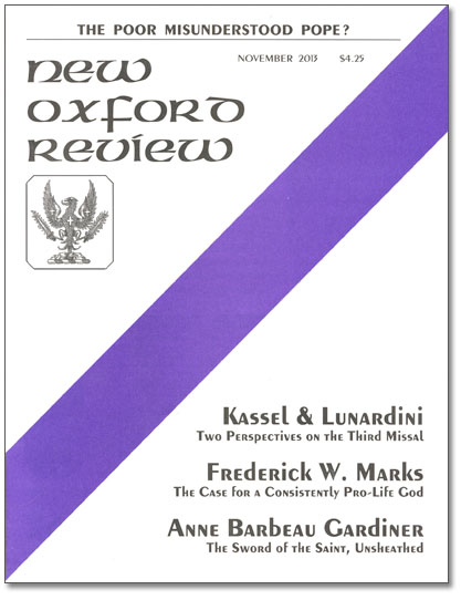 New Oxford Review Cover