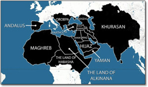 Projected Caliphate Map